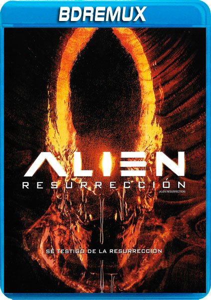 ALIEN 4 RESURRECCION [BDREMUX 1080P][DTS 5.1 CASTELLANO-DTS 5.1 INGLES+SUBS][ES-EN] torrent